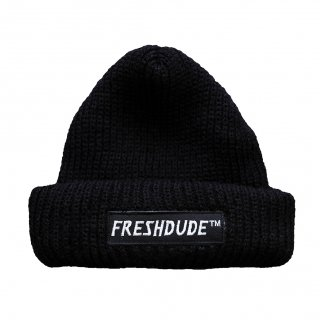 fdc -SHALLOW KNIT CAP-