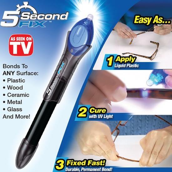正規品 5 Second Fix UV5秒で簡単接着!多用途 透明 爆安で販売中! 在庫なくなり次第終了! 送料無…