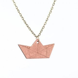 nicenicenice | PAPERBOAT NECKLACE | ネックレス (copper)