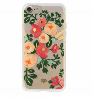RIFLE PAPER CO. | CLEAR PEACH | iPhone 7 ケース