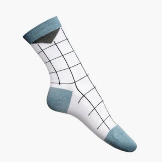 nicenicenice | NICE SOCKS GRID BLUE | ソックス