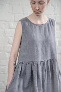 not PERFECT LINEN | LINEN DRESS (dark grey) | ワンピース | レディース UK8/S