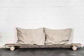 not PERFECT LINEN | LINEN PILLOW CASE (natural) | 枕カバー/ピローケース(2枚セット)