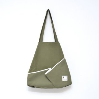 【SALE 40%オフ】kick FLAG | flag bag / fold(khaki) | TOTE BAG