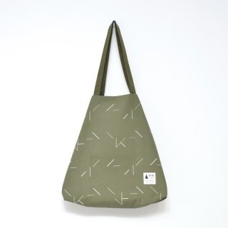 kick FLAG | flag bag / line(khaki) | TOTE BAG