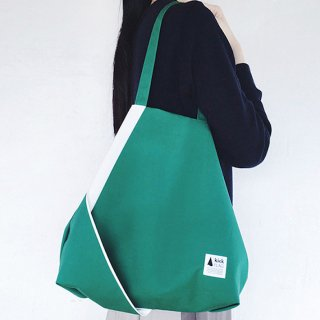 kick FLAG | flag bag(green×white)| TOTE BAG
