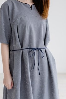 "rikolekt | ""memoryscapes""DRESS (gray) 