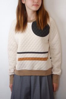 【SALE 40%オフ】spoken words project | raglan sweat (brown) | トップス
