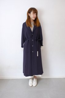 "rikolekt | ""raindrops"" COAT (navy) 