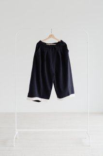 "rikolekt | ""touch"" WIDE PANTS (navy) 