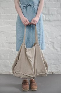 not PERFECT LINEN | LARGE LINEN TOTE BAG (natural) | トートバッグ