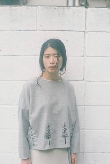 "【SALE セール】rikolekt | ""forest"" BLOUSE (gray) Mサイズ 