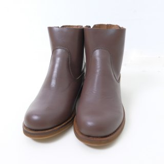 minan polku | side zip boots (d.brown) | ブーツ 38 (24cm)