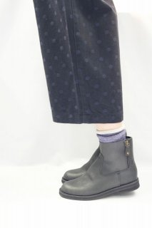 minan polku | side zip boots (black) | ブーツ 38 (24cm)