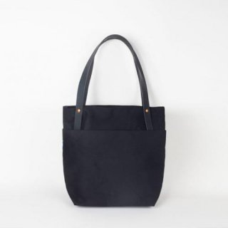 YIELD | TOKYO TOTE (black) | キャンバストートバッグ