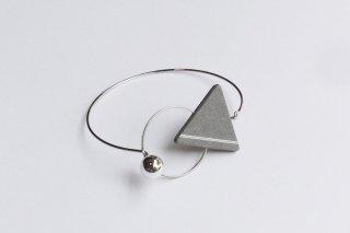 ilocami | 三角バングル (gray) | バングル