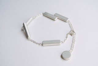 ilocami | BLOCK BRACELET (gray) | ブレスレット