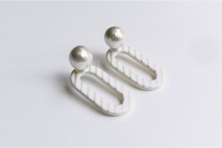 ilocami | CLIP PIERCE (white) | ピアス
