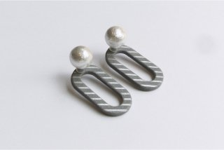 ilocami | CLIP PIERCE (gray) | ピアス