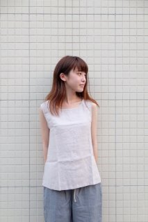 not PERFECT LINEN | LINEN TANK TOP (ashes of rose) | UK8/S | タンクトップ