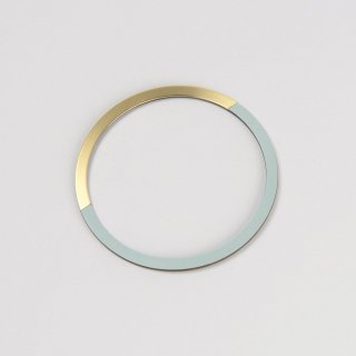 Tom Pigeon | Form Form Circle Bangle (brass & ice) | バングル