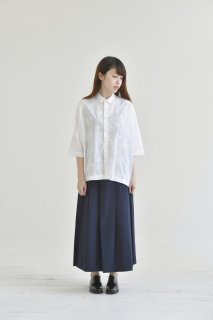 STAMP AND DIARY | ビッグブラウス annabelle (white) | ブラウス