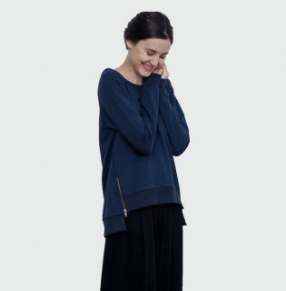 CEREMONY | Women sweatshirt (navy blue) | トップス