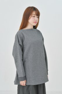 the last flower of the afternoon | sweatshirt (杢グレー) | スウェットプルオーバー