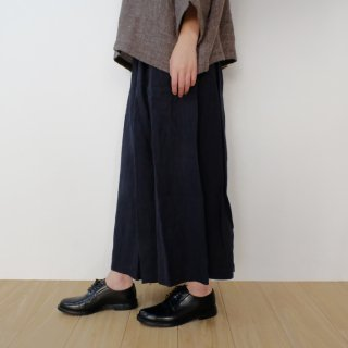 the last flower of the afternoon | かげとひかりのculotte pants (navy) | キュロットパンツ | Mサイズ