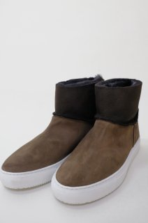 Dell' Arte (デラールテ) | mouton sneaker boots (taupe) | スニーカーブーツ 38 (24cm)