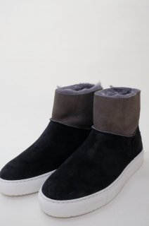 Dell' Arte (デラールテ)   mouton sneaker boots (black)   スニーカーブーツ 38 (24cm)