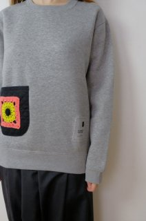 spoken words project | standard sweat (grey/pink) | トップス