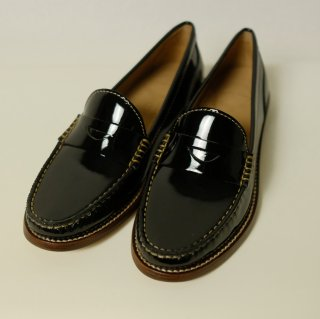 WIRTH | leather loafer (black) | ローファー 38 (23.5-24cm)