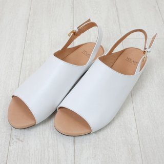 VOLARE | SANDAL OPEN TOE (white) | 38サイズ/24.0cm