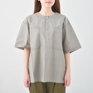 KELEN (ケレン) | Rool Pocket Skipper Shirt