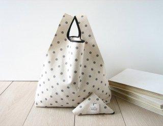 【ネコポス送料無料】ATELIER SETTEMBRE  | TOTE BAG (polka dots) | トートバッグ/ショッピングバッグ