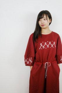 "rikolekt | ""EMBLEM DRESS"" (red) 