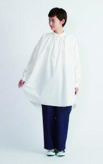 Cion   コットンオーバーシャツ (ホワイト)   トップス