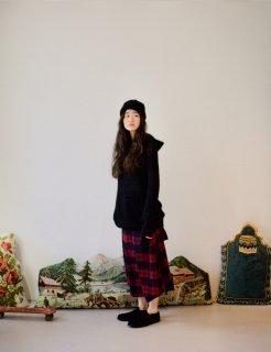 STORAMA   Mohair Knit Parka (black)   サイズXS