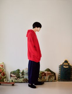 STORAMA | Mohair Knit Parka (red) | サイズXS