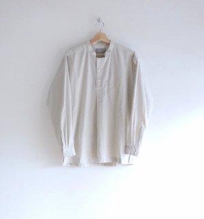 rikolekt | PURENESS PULLOVER SHIRT (white) | トップス【リコレクト シンプル 無地 白 シロ プルオーバーシャツ】