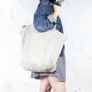 hairoo | LAZY CANVAS TOTE BAG (beige) | トートバッグ