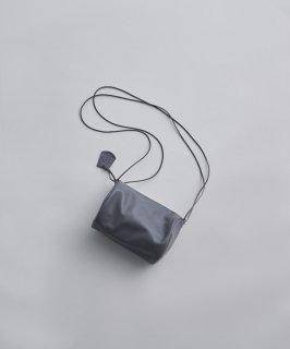REN | スティル・キャニスターショルダー (mid gray) | レザーショルダーバッグ