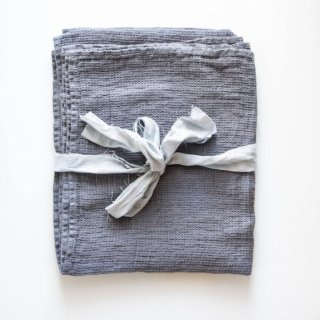 not PERFECT LINEN | LARGE LINEN WAFFLE BATH TOWEL (dark grey) | バスタオル