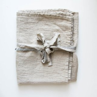 not PERFECT LINEN | LARGE LINEN WAFFLE BATH TOWEL (natural) | バスタオル