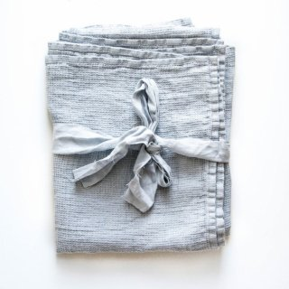 not PERFECT LINEN | LARGE LINEN WAFFLE BATH TOWEL (ice blue) | バスタオル