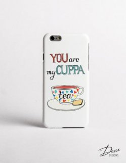 DESSI DESIGNS | CUPPA TEA | iPhone 6ケース