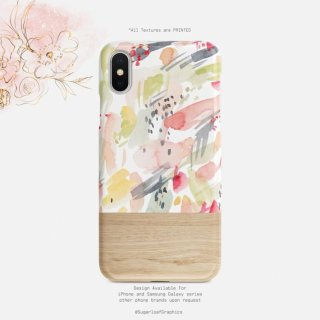 【ネコポス送料無料】SUGARLOAF GRAPHICS | ARTSY WATERCOLOR | iPhone 11 proケース