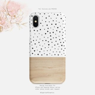 【ネコポス送料無料】SUGARLOAF GRAPHICS | TRIANGLE POLKA DOT | iPhone 11 proケース