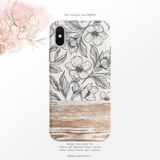 【ネコポス送料無料】SUGARLOAF GRAPHICS | FLORAL | iPhone 11 proケース